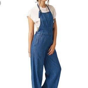 Volcom Denim Jumpsuit Size Sm